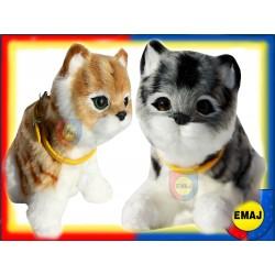 interaktywny KOTEK kociak kot miauczy kotki EMAJ
