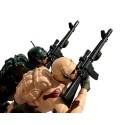 Żołnierz dla dzieci militarny efekty świetlne i realne odgłosy
