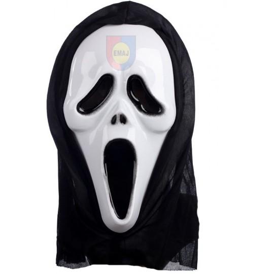 MASKA KRZYK Z KAPTUREM scream maski kostium EMAJ