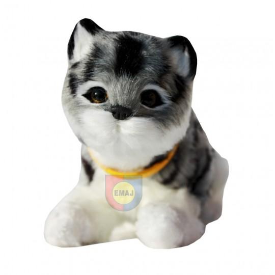 interaktywny KOTEK kociak kot miauczy kotki  E0169 EMAJ
