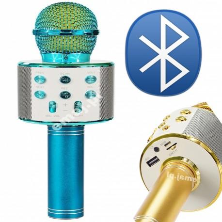 MIKROFON GŁOŚNIK, RADIO, USB, 23CM E0676 EMAJ